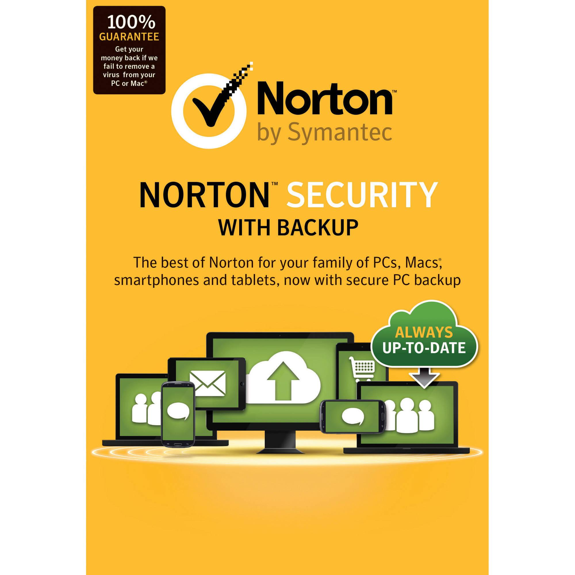 Norton™Security With Backup 10 Device 3 Mon REGION FREE