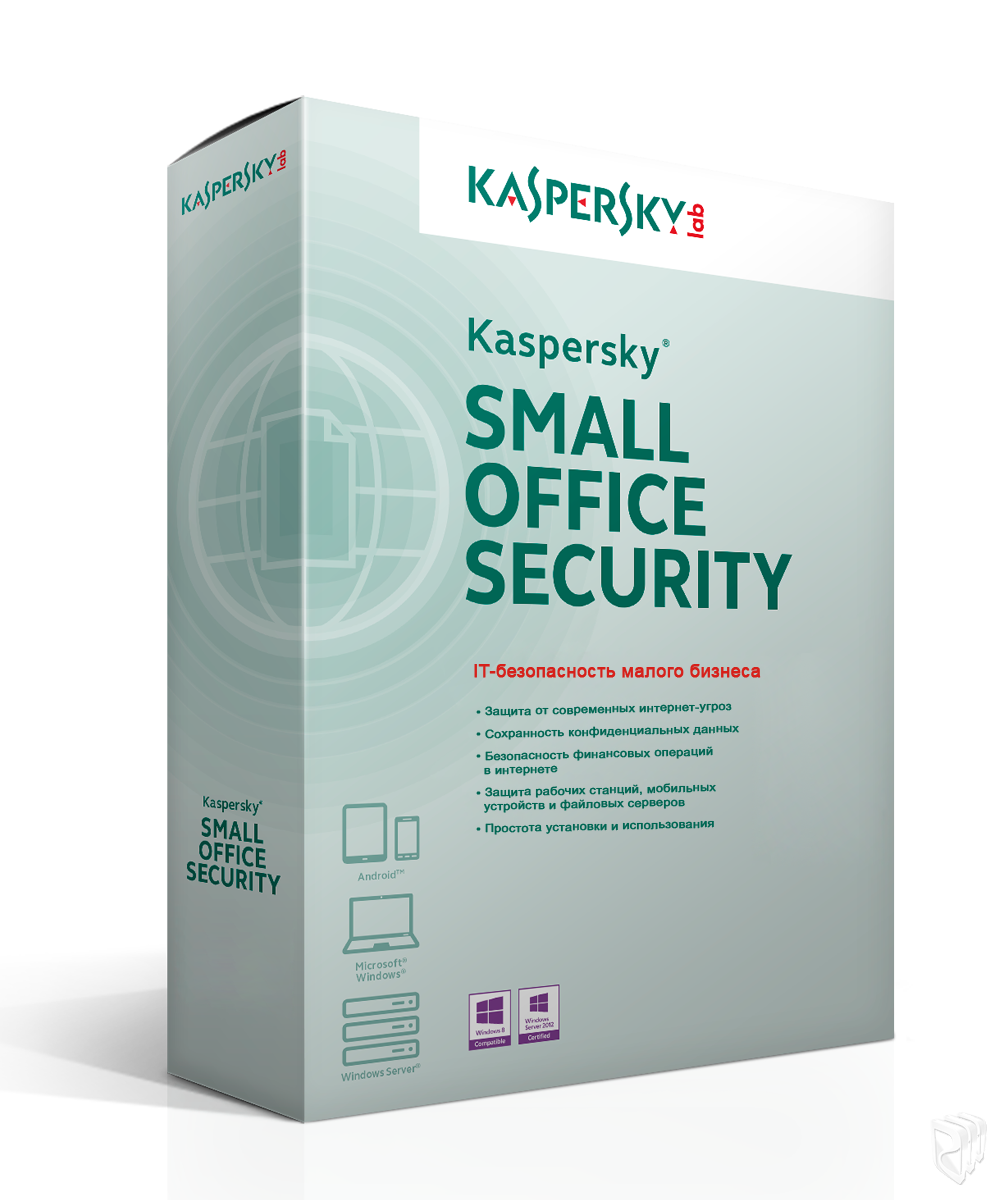 Kaspersky Small Office Security 5PK + 1SERVER 3mesyatsa