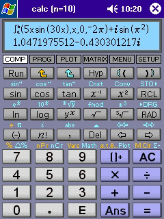 Powerful scientific calculator existing in nature