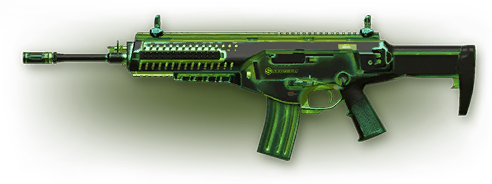 Warface: Beretta ARX160 «Радиация» (1 д.)