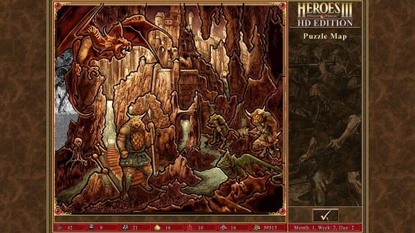 Heroes of Might & Magic® III 3 - HD Edition (Steam)