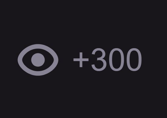 Twitch views / 300 views (Test, discounted) 2019