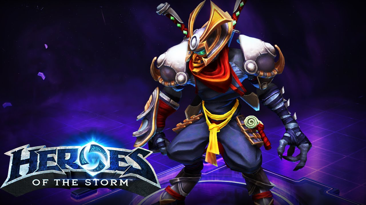 HERO Zeratul + SKIN Ronin  — (HEROES OF THE STORM)
