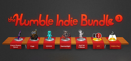 Humble Indie Bundle # 3. Activation key