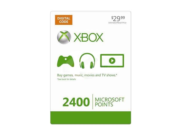Xbox LIVE 2400 Points (USA)