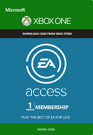 EA access 1 month Xbox one|360 REGION FREE