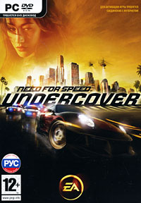 Need for Speed Undercover (фото CD-key для EA Origin)