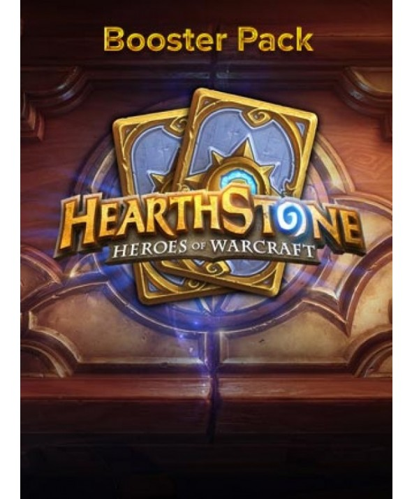 HEARTHSTONE BOOSTER EXPERT PACK (REGION FREE) - 5 CARDS