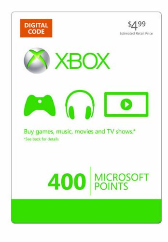 XBOX LIVE 400 MS Points Card (USA) - СКИДКИ