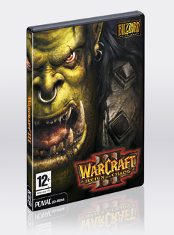 WARCRAFT 3: THE REIGN OF CHAOS / REGION FREE / MULTILAN