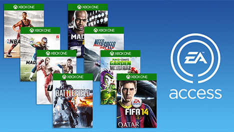 EA ACCESS XBOX ONE 1 MONTH REGION FREE / NEW ACCOUNTS
