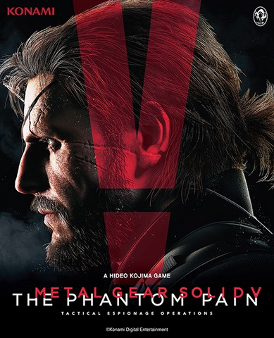 METAL GEAR SOLID V THE PHANTOM PAIN REGION FREE/GLOBAL