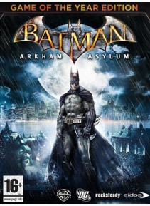 BATMAN ARKHAM ASYLUM GOTY / STEAM / REGION FREE / MULTI