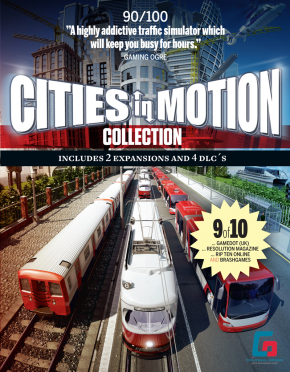 Cities in Motion. Collection ENG / Steam / Region Free