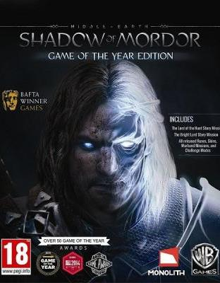 MIDDLE-EARTH: SHADOW OF MORDOR GOTY UPGRADE REG.FREE