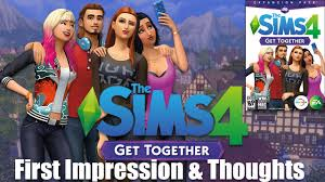 THE SIMS 4: GET TOGETHER DLC REG FREE MULTI