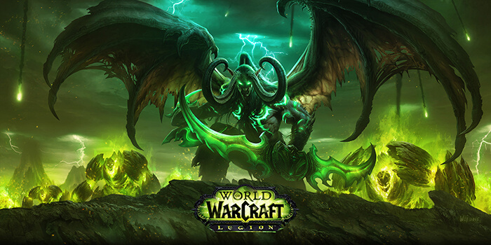WORLD OF WARCRAFT LEGION 100LVL EU MULTILANGUAGE