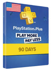 PLAYSTATION PLUS CARD 90 DAYS US (ONLY USA ACC)