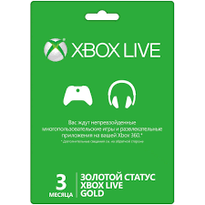 XBOX LIVE Gold 3 МЕСЯЦА (3 MONTHS) RU/EU/US - WORLDWIDE