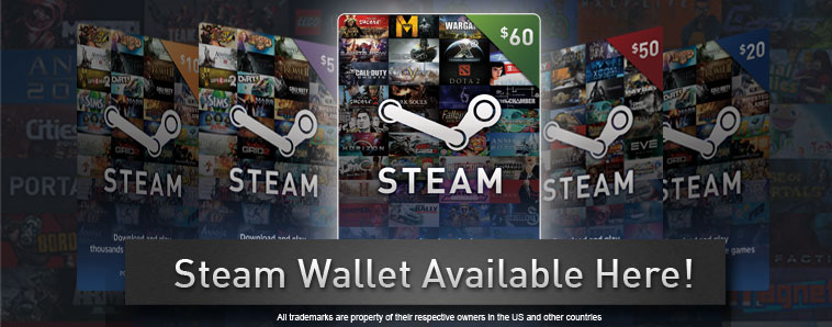 STEAM WALLET GIFT CARD 2.5$ GLOBAL BUT NO ARGENTINA