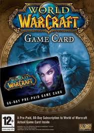 WORLD OF WARCRAFT TIME CARD 60 DAYS USA