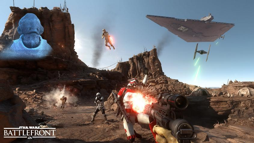 STAR WARS: BATTLEFRONT RU-PL / REGION FREE / ORIGIN