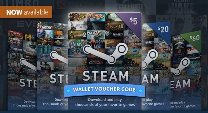 STEAM WALLET GIFT CARD 0.41$ REGION FREE + CONVERTING