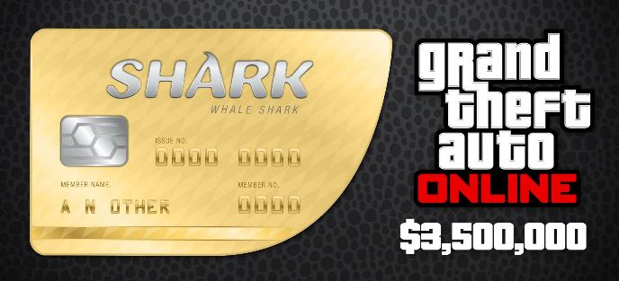 GRAND THEFT AUTO 5 RU & WHALE SHARK 3 500 000$ BUNDLE