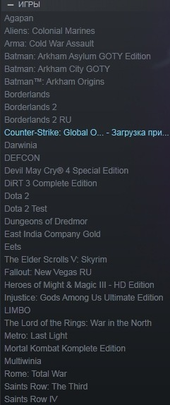 ARK+SKYRIM+BORDERLANDS2+SAINTS ROW+BATMAN+DIRT(ACC RU)