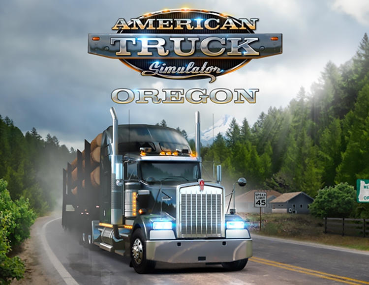 American Truck Simulator - DLC Oregon STEAM / RU-CIS