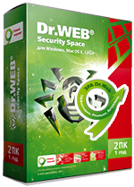 DR.WEB SECURITY SPACE 11 12МЕС 1ПК REGION FREE