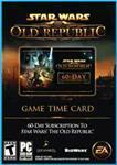 SWTOR TIME CARD 60 DAYS + 525 CARTEL COINS