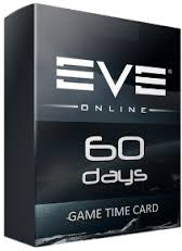 EVE ONLINE 60 DAYS TIME-CARD (60 DAYS TIME CARD)