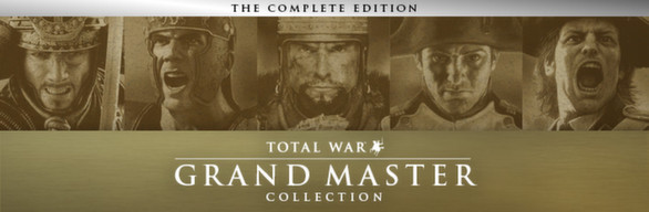 TOTAL WAR GRAND MASTER COLLECTION / STEAM / RU-CIS