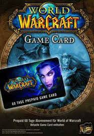 WORLD OF WARCRAFT TIME CARD 60 ДНЕЙ / RUS / SCAN