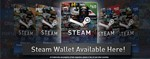 STEAM WALLET GIFT CARD 5$ GLOBAL BUT NO ARGENTINA