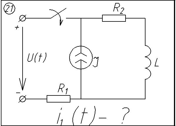 21 Solution of the transient circuit 21