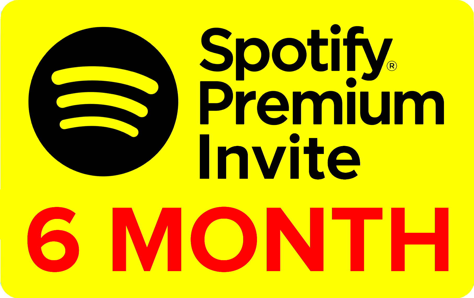 🚀 Spotify Premium • 6 MONTH • FOR YOR ACCOUNT • PAYPAL