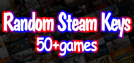 STEAM KEYS + 50 Random Games