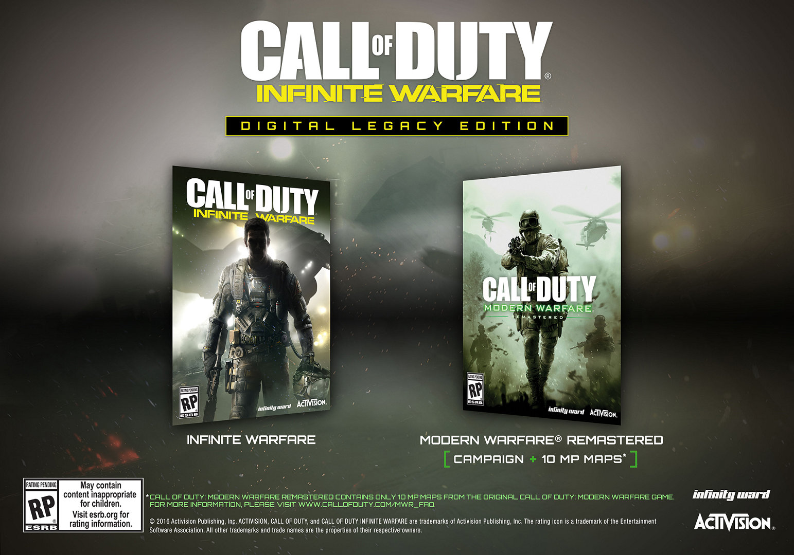 Call of Duty: Infinite Warfare Digital Legacy Ed. Steam