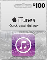 iTunes (US) USD100 Gift Card