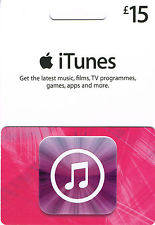 iTunes (US) USD15 Gift Card
