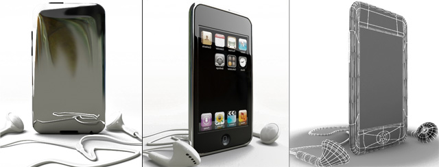 The model of the iPod touch