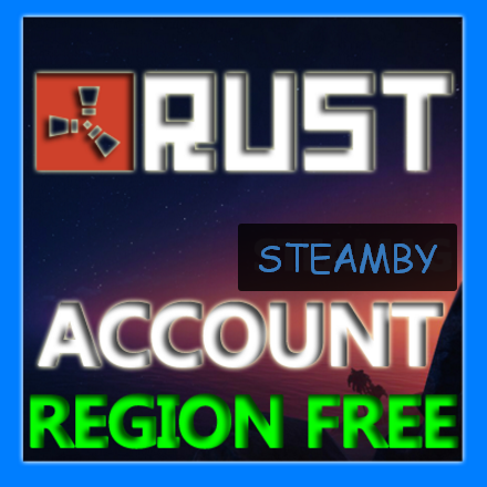 Rust account 10 Year Badge 6LVL (Region Free) UNLIMITED