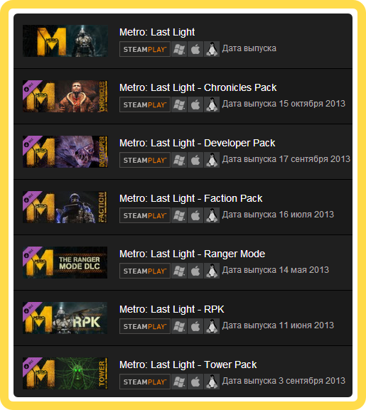 Metro: Last Light Complete Edition (ROW) - steam gift