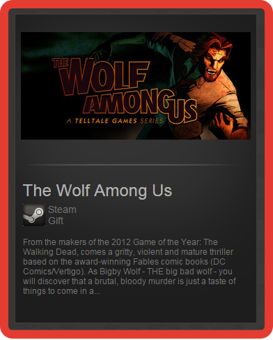 The Wolf Among Us (ROW) - steam gift + discount