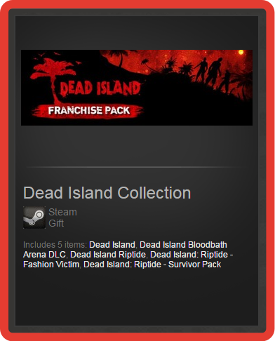 Dead Island Collection (Franchise Pack) (ROW) steam gift
