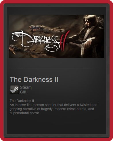 The Darkness II (ROW) - steam gift + present + discount