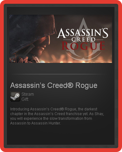 Assassin´s Creed - Rogue (ROW) - steam gift + discount