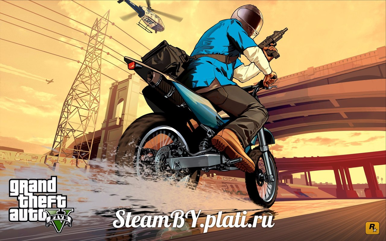 Grand Theft Auto V 5 (ROW) - steam gift + discount